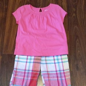 Girls' Baby Gap and Chaps, Top & Shorts, size 4
